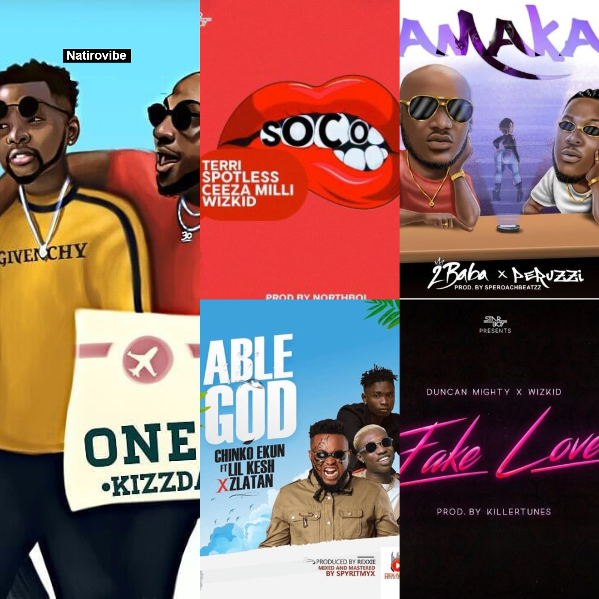 Top Ten Nigerian Music Collaborations In 2018 Natirovibe